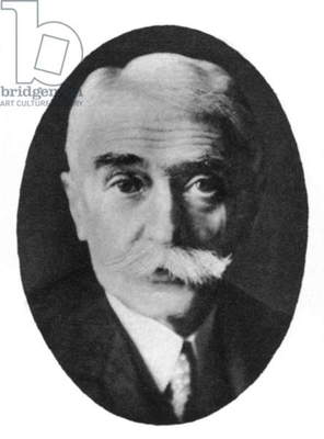 PIERRE de COUBERTIN (1863-1937). Pierre de Frédy, Baron de Coubertin. French educator, historian, and promoter of the modern Olympic Games.