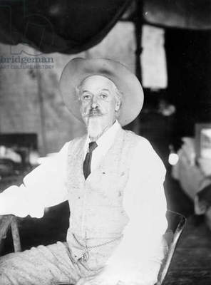 WILLIAM F. CODY (1846-1917) William Frederick Cody. Known as Buffalo Bill. American frontiersman and showman. Photograph, c.1911.