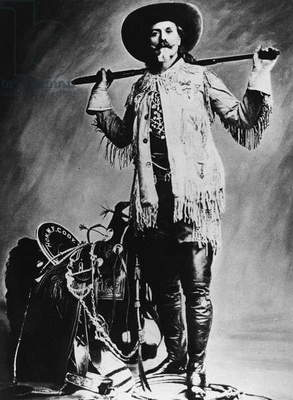 WILLIAM F. CODY (1846-1917) William Frederick Cody. Known as Buffalo Bill. American frontiersman and showman. Undated photograph.