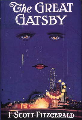 GREAT GATSBY COVER, 1925 Cover of the first edition, 1925, of 'The Great Gatsby' by F. Scott Fitzgerald.