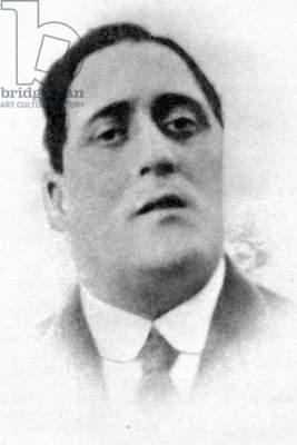 GUILLAUME APOLLINAIRE (1880-1918). French poet. Photographed in 1912.