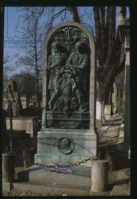 Tomb of Victor Schoelcher (1804-93) and his father Marc Schoelcher (1766-1832) (photo)