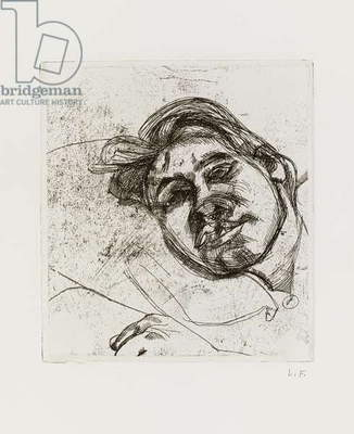 Bella, 1982 (etching)
