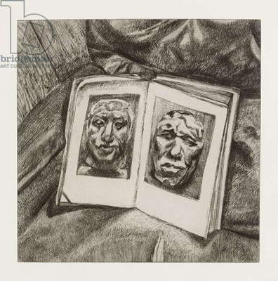 The Egyptian Book, 1994 (etching)