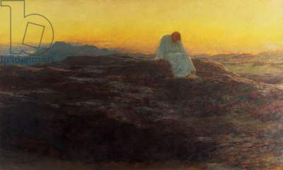 Christ in the Wilderness, 1898 (oil on canvas)