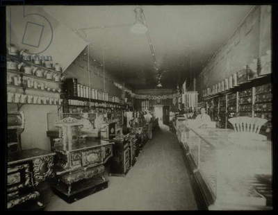 Hardware and Appliances Store, Interior, Madison, South Dakota, USA, Circa 1910