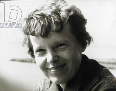 Amelia Earhart, c. 1937 (b/w photo)