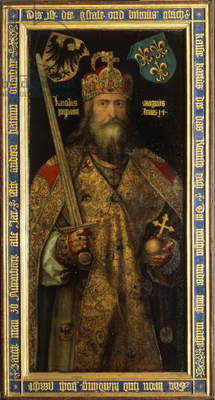 Emperor Charlemagne, c.1511-13 (oil on panel)