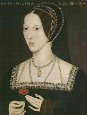 Anne Boleyn, 1534 (oil on panel)