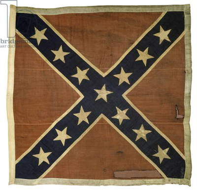 'Jeff Davis' Escort flag (textile)