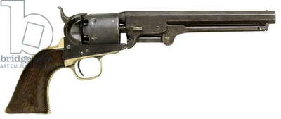 Colt Navy revolver from the N.C. Infantry, 1851 (wood & metal)