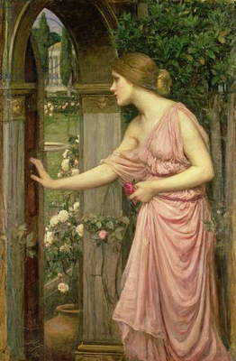 Psyche entering Cupid's Garden, 1903 (oil on canvas)