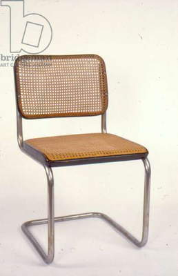 Cesca dining room chair, 1928 (steel, pine & caning)