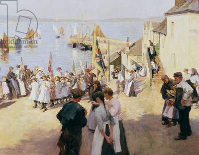 Gala Day at Newlyn, 1907