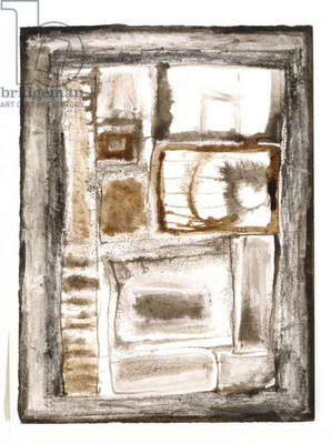 Untitled, c. 1961 (ink and wash with graphite on paper)