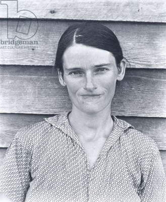 Allie Mae Burroughs, Wife of a Cotton Sharecropper, Hale County, Alabama, 1936 (gelatin silver print)