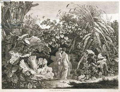 I Too Was in Arcadia, 1801 (etching)