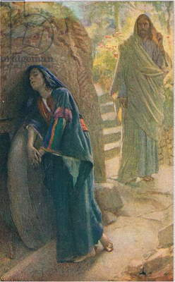 Mary Magdalene, illustration from 'Women of the Bible', published by The Religious Tract Society, 1927 (colour litho)