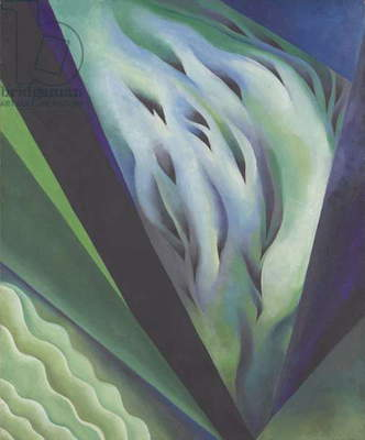 Blue and Green Music, 1919-21 (oil on canvas)