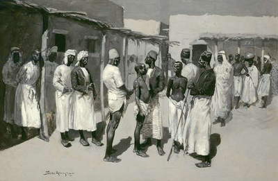 Slave Market, 1893 (oil on canvas)