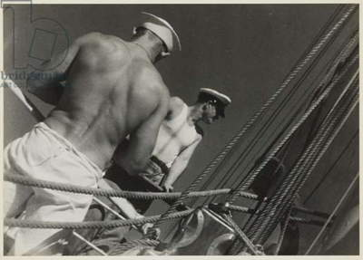 Aboard the Cressida, South Pacific, 1932 (gelatin silver print)