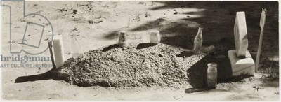 A Child's Grave, Hale County, Alabama, 1936 (gelatin silver print)