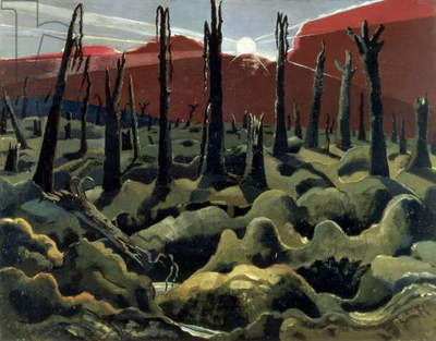 We are making a New World, 1918 (oil on canvas)