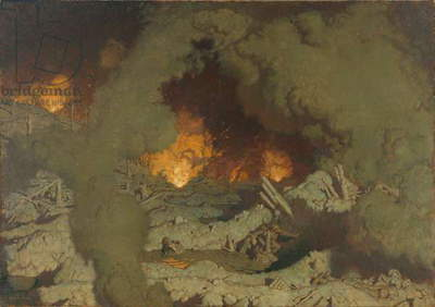 L'Enfer (Hell), 1921 (oil on canvas)