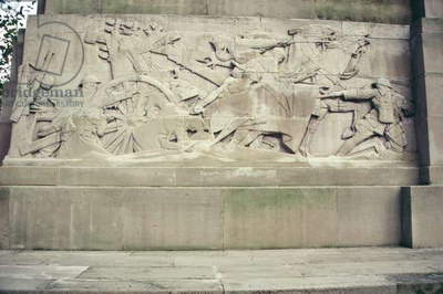Detail from the Royal Artillery Memorial 1914-18, 1925 (Portland stone) (photo)