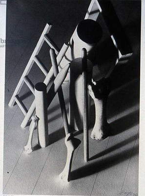 Standing Objects, 1936 (silverprint)