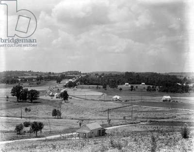 View of the Arthurdale Project, West Virginia, 1935 (b/w photo)