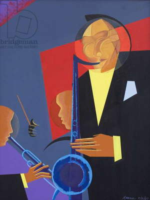 Jazz Sharp, 2007 (oil and acrylic on canvas)