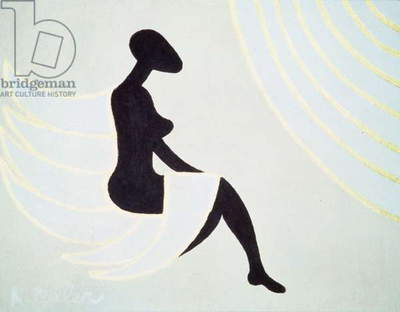 Lady Angel, 2005 (acrylic on canvas)
