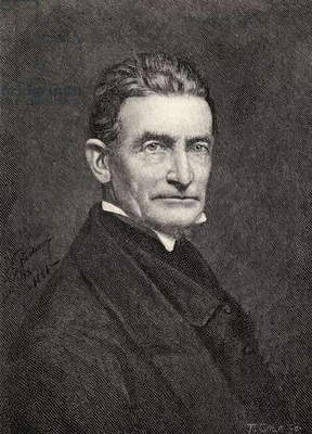 Portrait of John Brown, from 'The Century Illustrated Monthly Magazine', May to October, 1883 (litho)