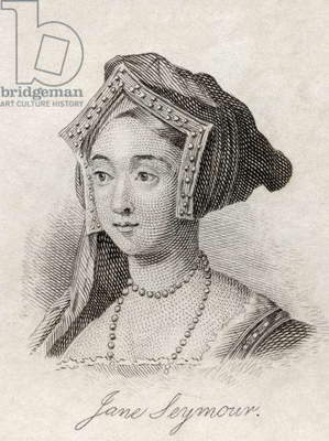 Jane Seymour, from 'Crabb's Historical Dictionary', published 1825 (litho)
