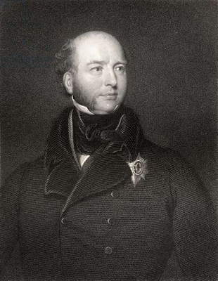 Francis Charles Seymour Conway, 3rd Marquess of Hertford and Yarmouth, engraved by William Holl, from 'National Portrait Gallery, volume IV', published c.1835 (litho)