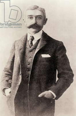 Pierre Frédy, Baron de Coubertin, 1863 – 1937. French historian. Founder of International Olympic Committee and modern Olympic Games.