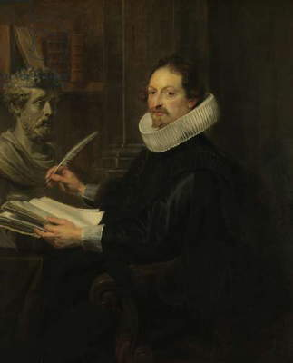 Gaspard Gevartius, 1628 (oil on panel)
