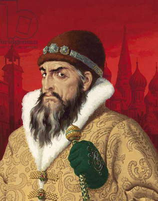 Ivan the Terrible (1530-84) (gouache on paper)