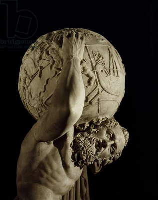 Atlas, copy of a Greek Hellenistic original (marble) (detail)