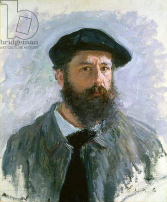 Self Portrait with a Beret, 1886 (oil on canvas)