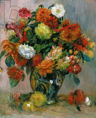 Vase of Flowers, c.1884 (oil on canvas)