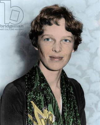 Amelia Earhart, c.1928 (photo)