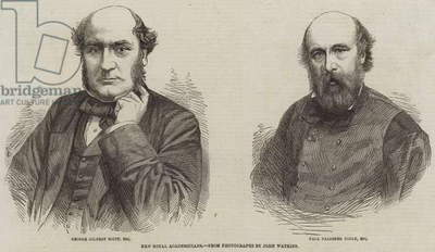 New Royal Academicians (engraving)