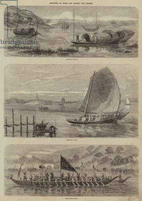 Sketches of River Life among the Chinese (engraving)