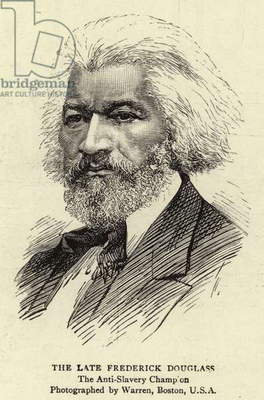 The Late Frederick Douglass (engraving)