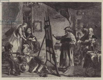 The Studio of Rembrandt (engraving)