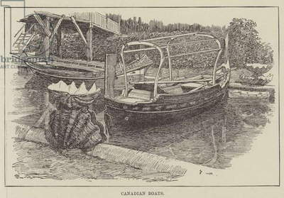 Canadian Boats (engraving)