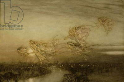 Twilight Dreams, 1913 (w/c on paper)