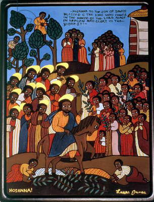 Hosanna, 1995 (acrylic on canvas)